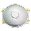 N95 Disposable Respirator With Valve, 10/Carton