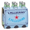 San Pellegrino Sparkling Natural Mineral Water, 8 oz Bottle, 24/Carton