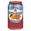 Sparkling Fruit Beverages, Aranciata Rossa (Blood Orange), 11.15 oz Can, 12/Ctn
