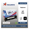 Triumph 751000NSH1394 Remanufactured CF283A (83A) Toner, Black