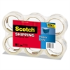 "Scotch 3850 Heavy-Duty Tape Refills, 1.88"" x 54.6yds, 3"" Core, Clear, 6/Pack"