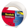 "Scotch 3850 Heavy-Duty Packaging Tape, 1.88"" x 54.6yds, 3"" Core, Clear"