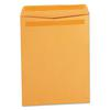 Self Stick File Style Envelope, 12 1/2 x 9 1/2, Brown, 250/Box