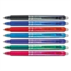Pilot FriXion Clicker Erasable Gel Ink Retractable Pen, Assorted Ink, .5mm, 7/Pack