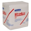 WypAll* X70 Wipers, 1/4 Fold, 12 1/2 x 12, White, 76/Pack, 12 Packs/Carton