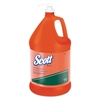 Scott NTO Hand Cleaner w/Grit, Orange, 1gal Pump Bottle, 4/Carton