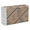 Scott C-Fold Paper Towels, 100% Recycled, 10 1/10 x 13 1/5, 200/Pack, 12 Packs/Carton