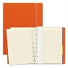 Notebook, College Rule, Orange Cover, 8 1/4 x 5 13/16, 112 Sheets/Pad