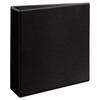 "Durable View Binder w/Slant Rings, 11 x 8 1/2, 3"" Cap, Black"