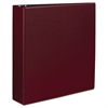 "Durable Binder with Slant Rings, 11 x 8 1/2, 2"", Burgundy"