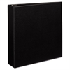 "Durable Binder with Two Booster EZD Rings, 11 x 8 1/2, 2"", Black"