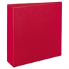 "Durable Binder with Slant Rings, 11 x 8 1/2, 3"", Red"