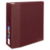 "Avery Heavy-Duty Binder with One Touch EZD Rings, 11 x 8 1/2, 5"" Capacity, Maroon"