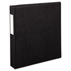 "Avery Durable Binder with Slant Rings, 11 x 8 1/2, 1 1/2"", Black"