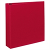 "Avery Durable Binder with Slant Rings, 11 x 8 1/2, 2"", Red"