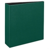 "Durable Binder with Slant Rings, 11 x 8 1/2, 3"", Green"
