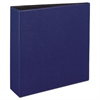 "Durable Binder with Slant Rings, 11 x 8 1/2, 3"", Blue"