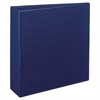 "Durable Binder with Two Booster EZD Rings, 11 x 8 1/2, 3"", Blue"
