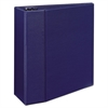 "Durable Binder with Two Booster EZD Rings, 11 x 8 1/2, 5"", Blue"