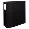"Avery Durable Binder with Two Booster EZD Rings, 11 x 8 1/2, 5"", Black"