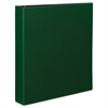 "Durable Binder with Slant Rings, 11 x 8 1/2, 1 1/2"", Green"