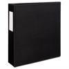 "Avery Durable Binder with Two Booster EZD Rings, 11 x 8 1/2, 3"", Black"
