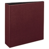 "Durable Binder with Slant Rings, 11 x 8 1/2, 3"", Burgundy"