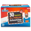 Washable School Glue Sticks, 30/Box