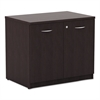 Alera Alera Valencia Series Storage Cabinet, 34w x 22 3/4d x 29 1/2h, Espresso
