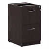 Valencia File/File Drawer Full Ped, 15 5/8 x 20 1/2 x 28 1/2, Espresso