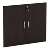 "Alera Alera Valencia Series Cabinet Door Kit For All Bookcases, 31 1/4"" Wide, Espresso"