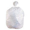 Low-Density Can Liners, 40-45 gal, 0.75 mil, 40 x 46, White, 100/Carton
