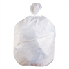 Low-Density Can Liners, 33 gal, 0.75 mil, 30 x 39, White, 150/Carton