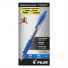 Pilot G2 Premium Retractable Gel Ink Pen, Refillable, Blue Ink, 1mm, Dozen