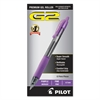 G2 Premium Retractable Gel Ink Pen, Refillable, Purple Ink, .7mm, Dozen