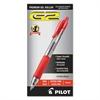 G2 Premium Retractable Gel Ink Pen, Refillable, Red Ink, .5mm, Dozen
