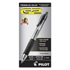 Pilot G2 Premium Retractable Gel Ink Pen, Refillable, Black Ink, .5mm, Dozen