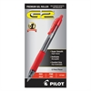 Pilot G2 Premium Retractable Gel Ink Pen, Refillable, Red Ink, .7mm, Dozen
