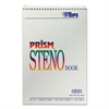 Prism Steno Books, Gregg, 6 x 9, Gray, 80 Sheets, 4 Pads/Pack