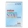 Prism Steno Books, Gregg, 6 x 9, Blue, 80 Sheets, 4 Pads/Pack