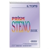 TOPS Prism Steno Books, Gregg, 6 x 9, Orchid, 80 Sheets, 4 Pads/Pack
