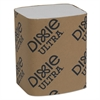 """Dixie Ultra Interfold Napkin Refills Two-Ply, 6 1/2"""" x 9 7/8"""", White, 6000/Carton"""