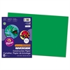 Riverside Construction Paper, 76 lbs., 12 x 18, Holiday Green, 50 Sheets/Pack