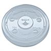 Fabri-Kal Kal-Clear/Nexclear Drink Cup Lids, F/12-24 oz Cups, Clear, Plastic,1000/Carton