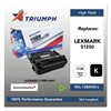 Triumph 751000NSH0207 Remanufactured 1382625 High-Yield Toner, Black