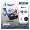 Triumph 751000NSH0381 Remanufactured 64035HA (T640) High-Yield Toner, Black