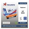 Triumph 751000NSH0980 Remanufactured CE251A (504A) Toner, Cyan
