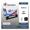 Triumph 751000NSH1284 Remanufactured CE410X (305X) High-Yield Toner, Black