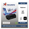 Triumph 751000NSH0358 Remanufactured Q5949X (49X) High-Yield Toner, Black