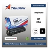Triumph 751000NSH0962 Remanufactured CB435A (35A) Toner, Black